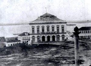 Teatro São Pedro - Imagem de 1865