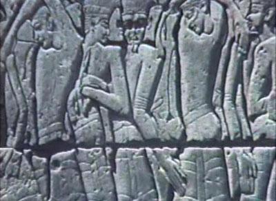 imagens da vida coletiva - arte rupestre