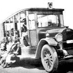 A Jardineira - Veículo de passageiros, ano de 1920 em Porto Alegre