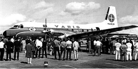 A Varig na década de 70 em Porto Alegre