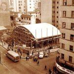 Pavilhão de Exposições do Estado da década de sessenta