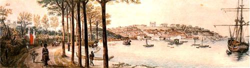 A primeira imagem de Porto Alegre